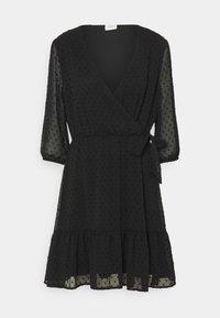 JDY - JDYEMILIA WRAP DRESS - Day dress - black - 3