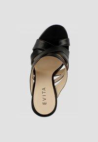Evita - DAMEN SANDALETTE EVA - Højhælede sandaletter / Højhælede sandaler - black - 1