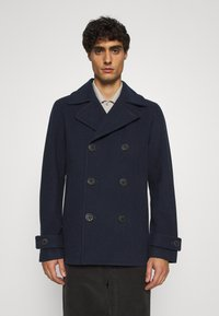 Selected Homme - SLHSUSTAINABLE ICONICS PEACOAT  - Classic coat - sky captain - 0