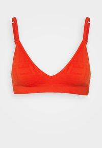 ELLE - SEAMFREE BRALETTE - Triangle bra - red - 0