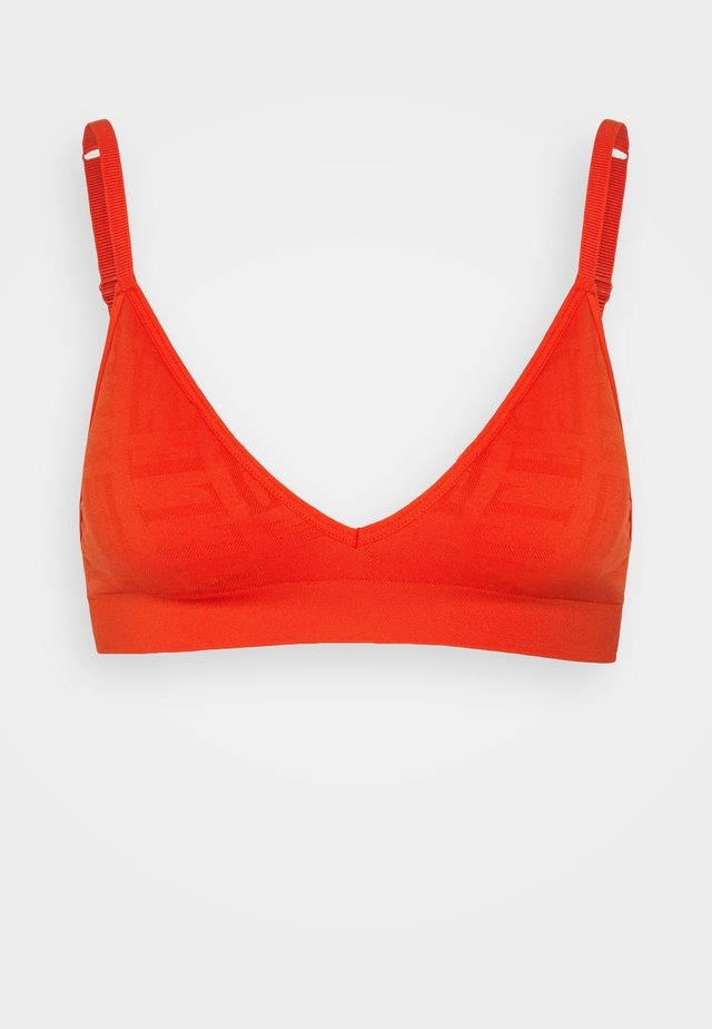 SEAMFREE BRALETTE - Triangel BH - red
