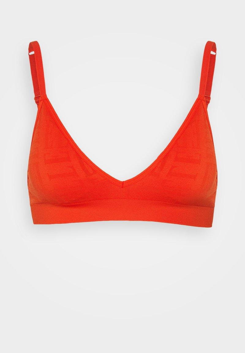 ELLE - SEAMFREE BRALETTE - Triangle bra - red