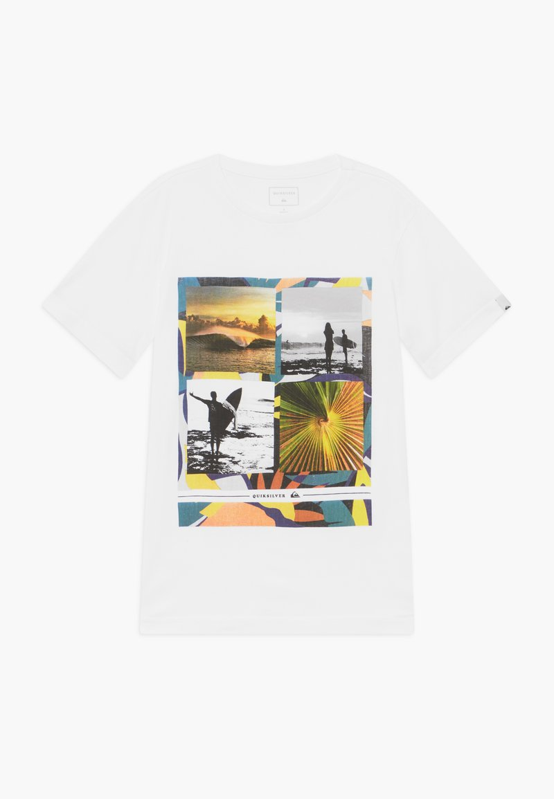 Quiksilver - YOUNGER YEARS - Printtipaita - white