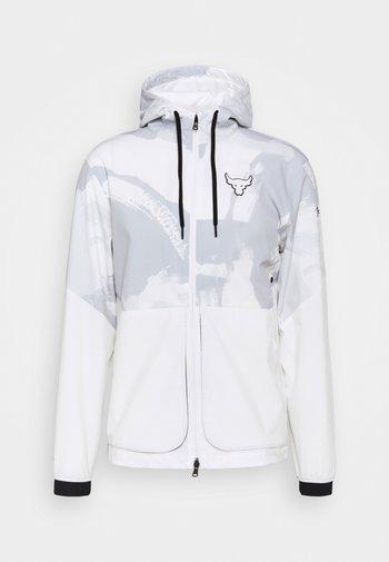 ROCK LEGACY - Training jacket - onyx white