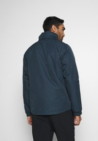 Vaude - MENS ESCAPE LIGHT JACKET - Waterproof jacket - steelblue - 3