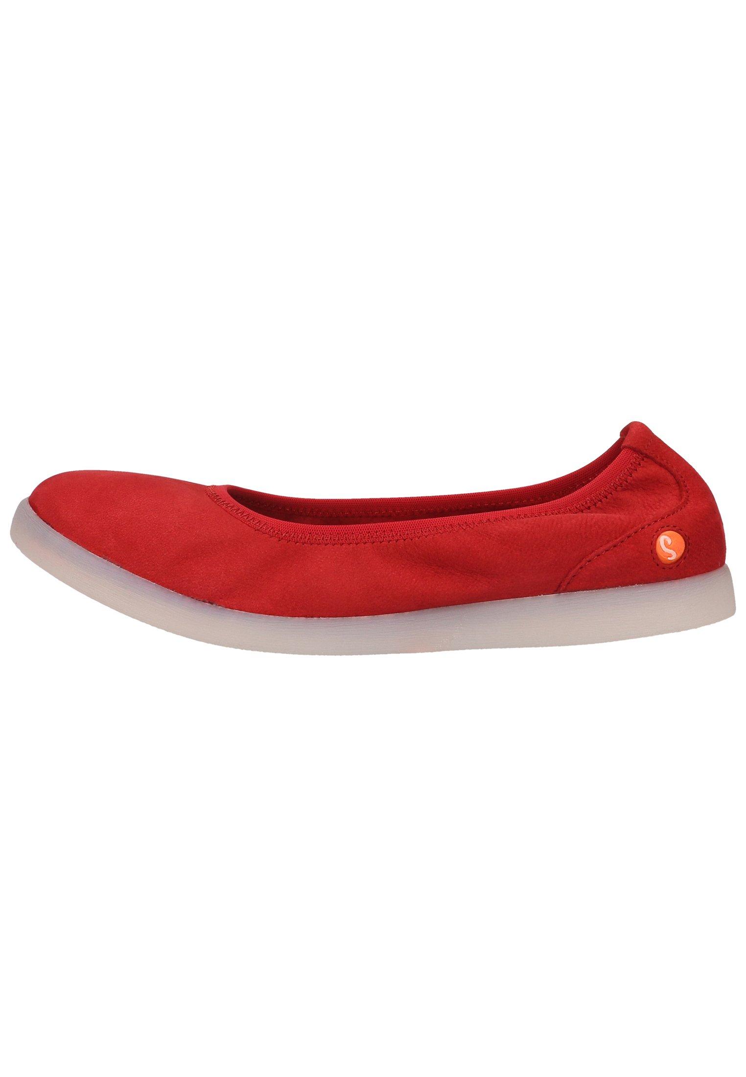 Femme Ballerines pliables - cherry red