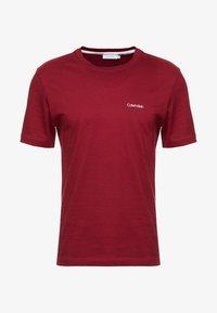 Calvin Klein - CHEST LOGO - Basic T-shirt - red - 4