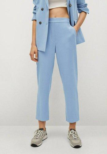 Trousers - sky blue