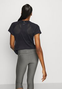 Under Armour - SPORT HI LO  - T-shirt basic - black - 2