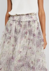 Needle & Thread - LILACS SMOCKED BALLERINA SKIRT - A-Linien-Rock - champagne - 4