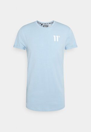 MUSCLE FIT - Print T-shirt - powder blue