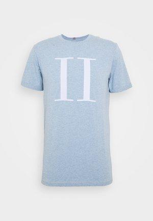 ENCORE  - Print T-shirt - light blue melange