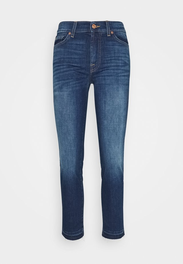 ROXANNE ANKLE UNROLLED - Jeans slim fit - lexington
