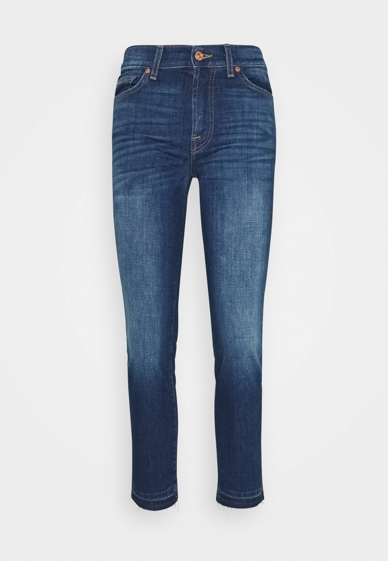 7 for all mankind - ROXANNE ANKLE UNROLLED - Slim fit jeans - lexington