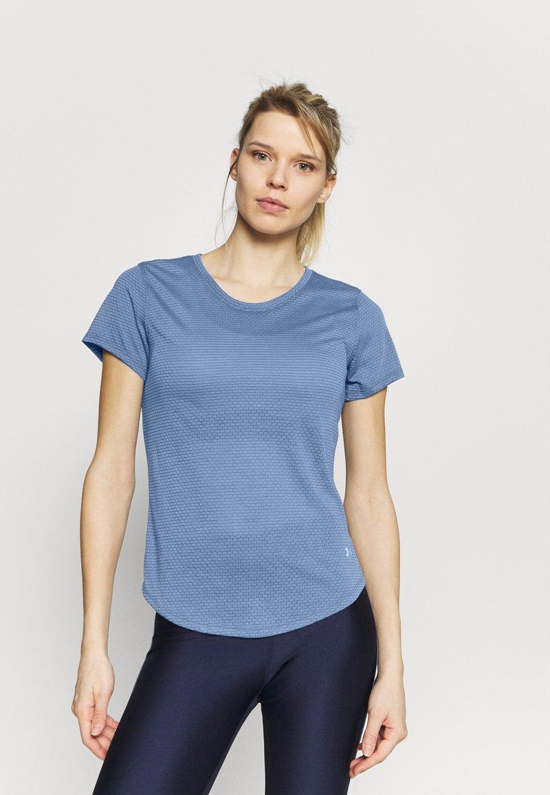 Under Armour - STREAKER - Camiseta básica - mineral blue
