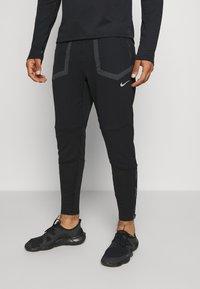 Nike Performance - ELITE PANT  - Pantalones deportivos - black/smoke grey - 0