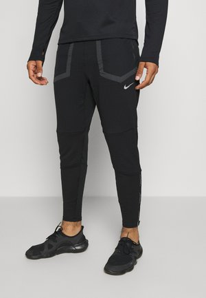 ELITE PANT  - Pantalones deportivos - black/smoke grey