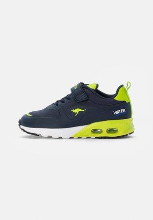 Sneakers basse - navy/lime