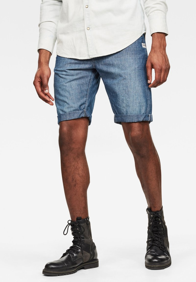 G-Star - LOIC N - Shorts - faded navy