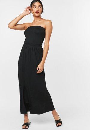 BANDEAU  - Maxi dress - black