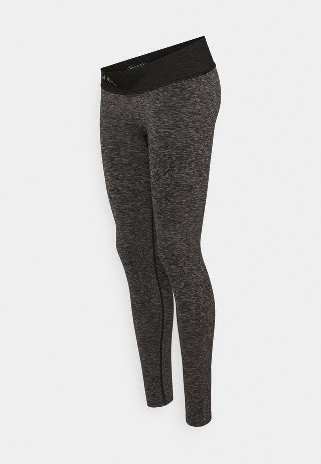 ABRIL - Leggingsit - charcoal