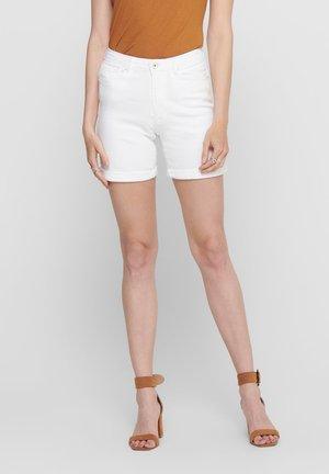 PAOLA  - Szorty jeansowe - white
