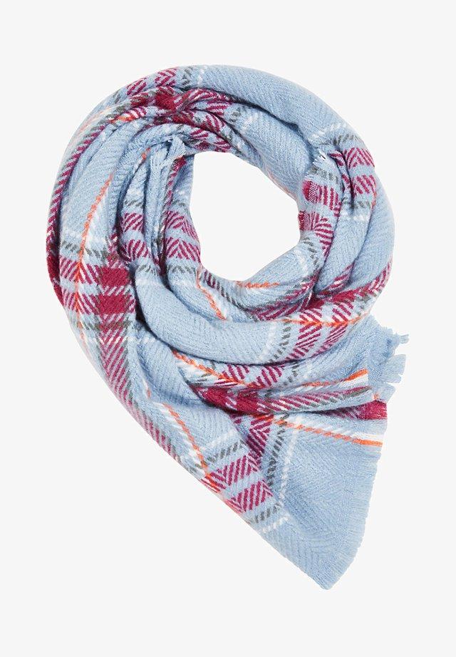 MIT WEB-KARO - Sjaal - pastel blue