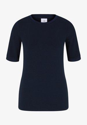 Jednoduché triko - navy blau