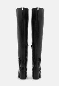 Zign - Overknee laarzen - black - 3
