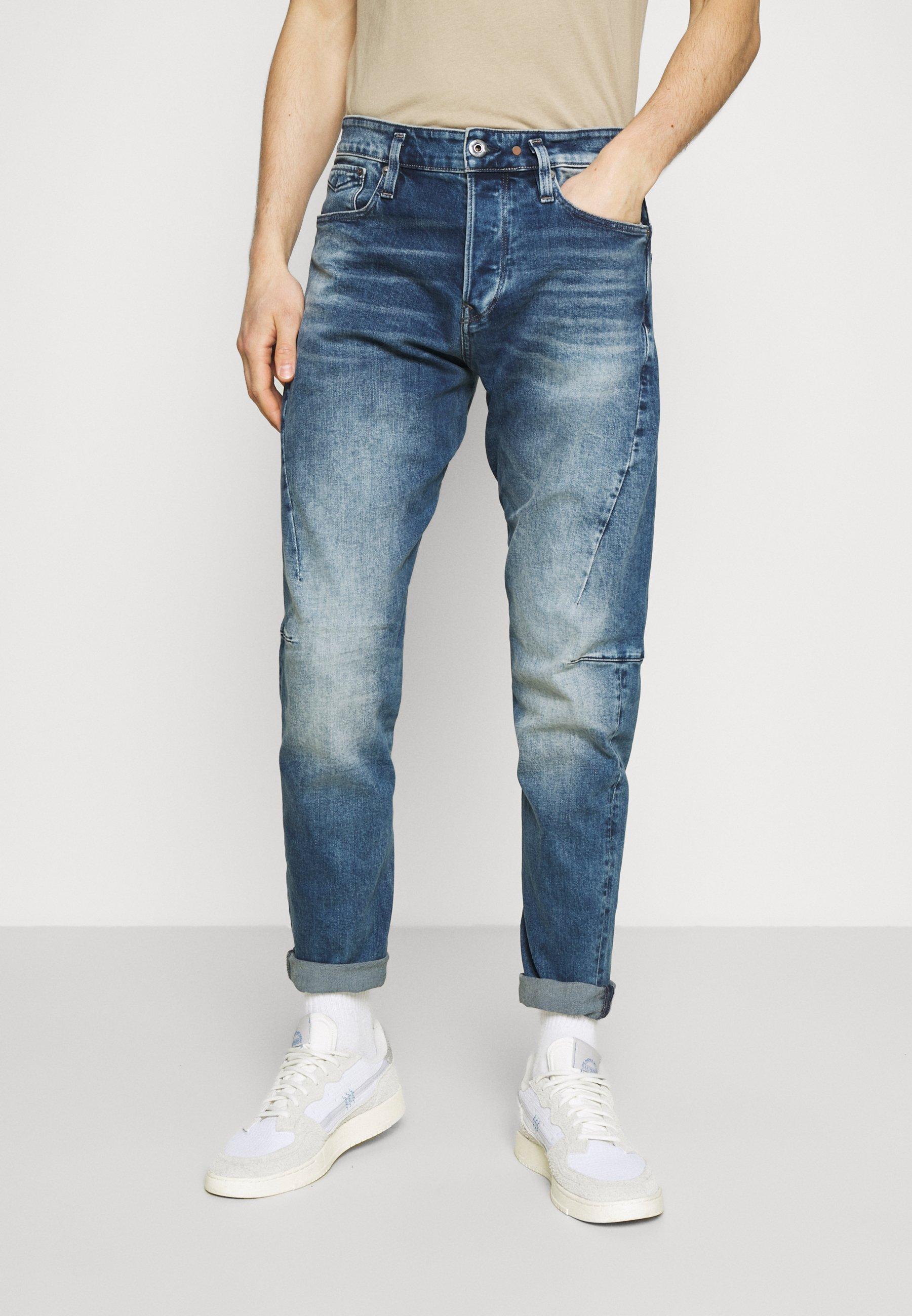 Herrer SCUTAR 3D SLIM TAPERED - Jeans Slim Fit