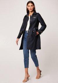 Morgan - Trenchcoat - dark blue - 1