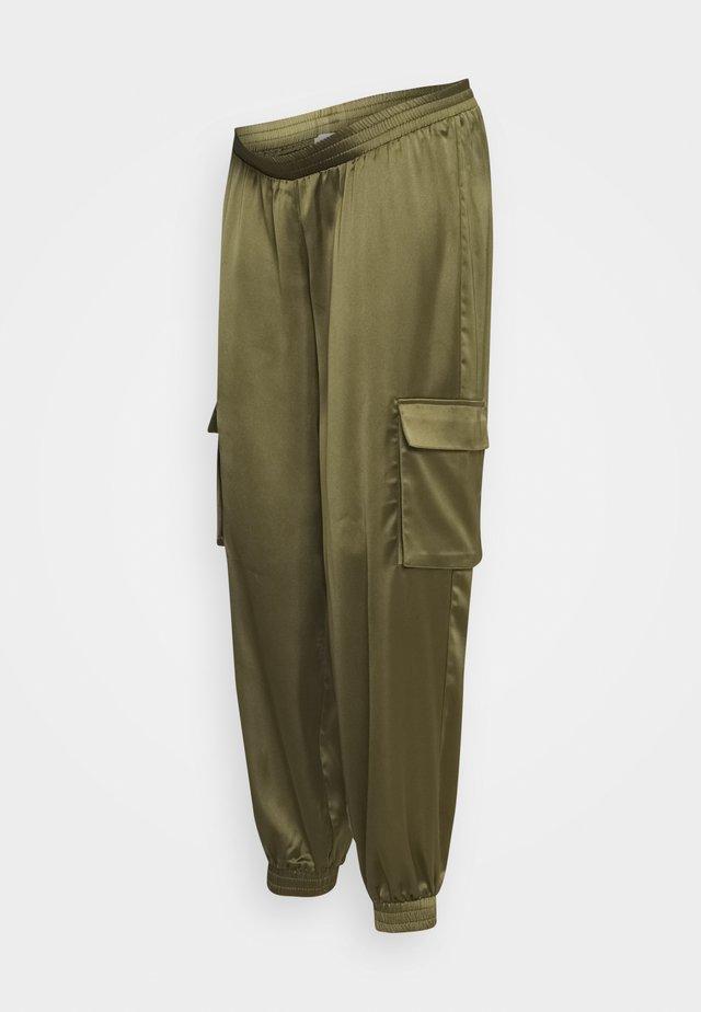 MLASA PANT - Pantaloni sportivi - deep lichen green