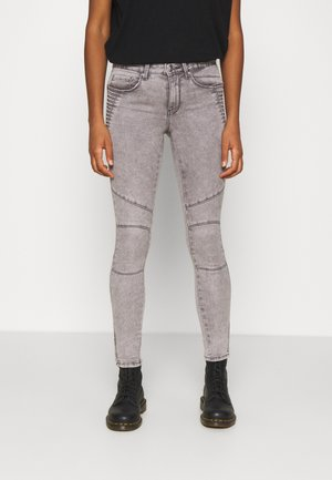 ONLROYAL LIFE ZIP - Jeans Skinny Fit - light grey denim