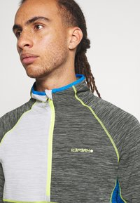 Icepeak - DENISON - Fleece jumper - lead grey - 4