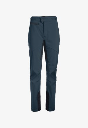 Outdoor trousers - steelblue
