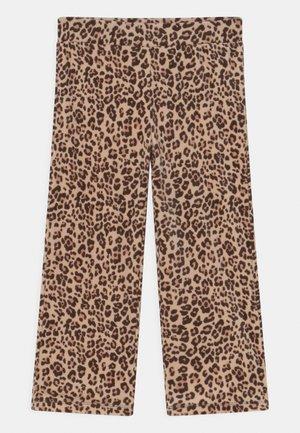 MINI PANTS - Spodnie materiałowe - brown