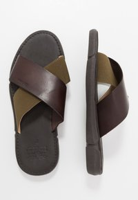 Barbour - ADAM  - Pantofle - olive/mocha - 1