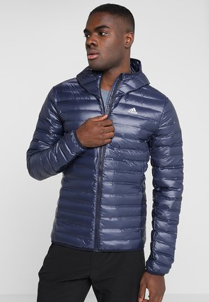 VARILITE HOODED DOWN JACKET - Vinterjacka - legend ink