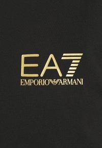 EA7 Emporio Armani - Triko spotiskem - black/gold - 3
