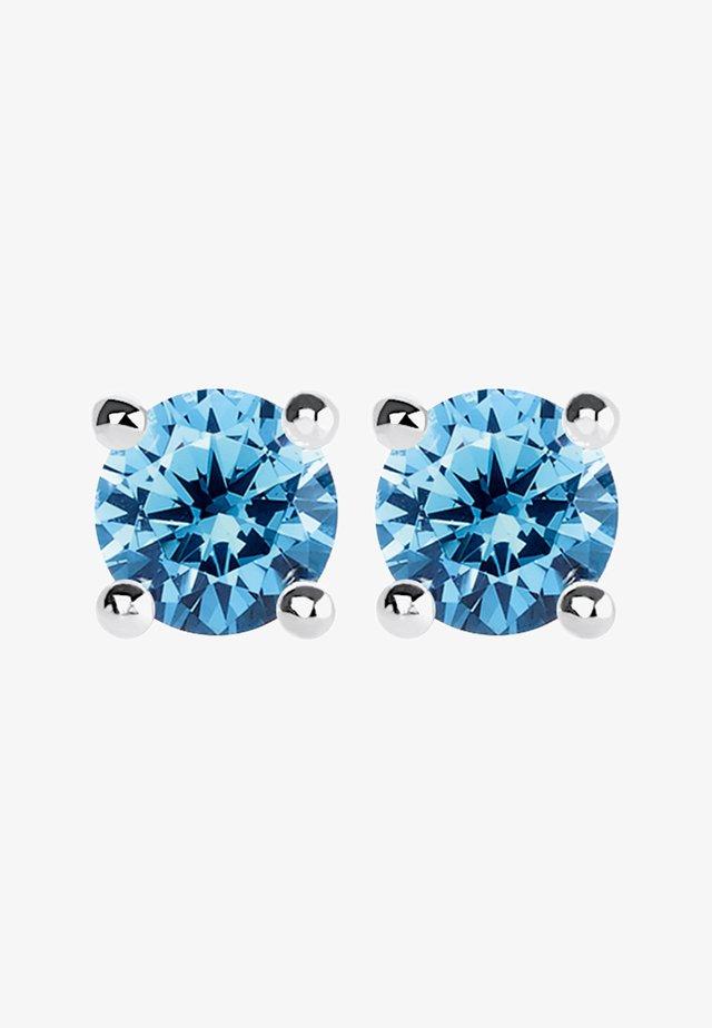 Øreringe - silver-coloured/blue