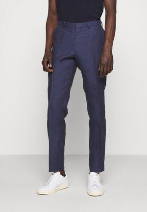 THODD - Oblekové kalhoty - midnight blue