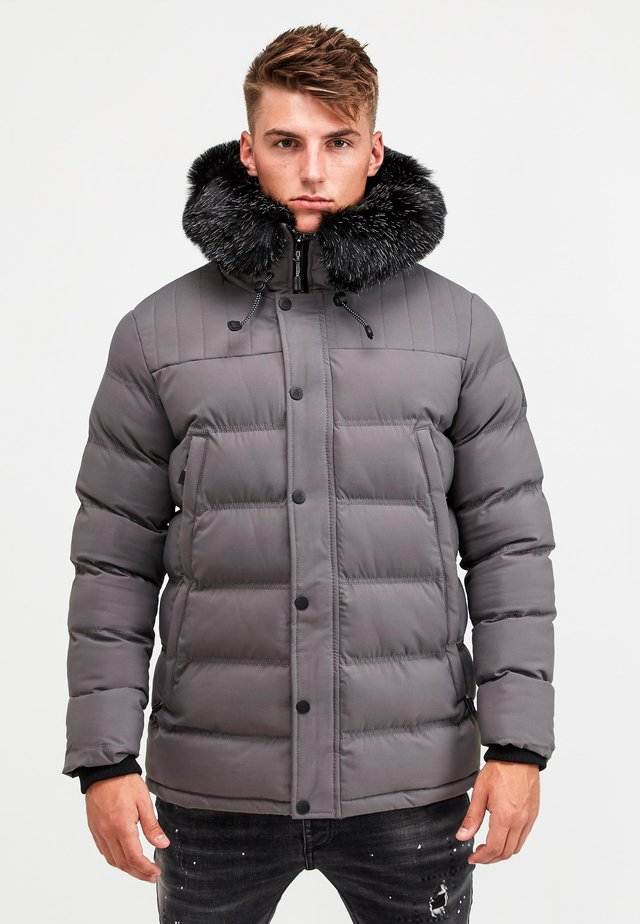 Abrigo de invierno - charcoal