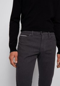 BOSS - DELAWARE3-1-20+ - Slim fit jeans - dark grey - 3