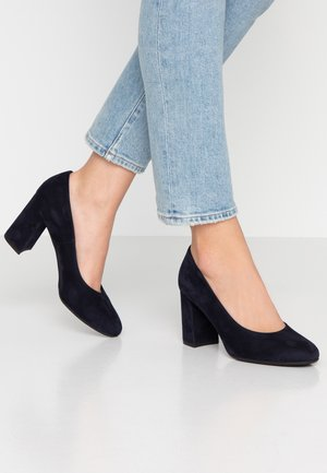 DALMARA - Classic heels - navy