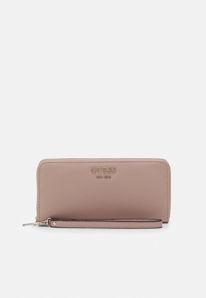 Guess - VIKKY LARGE ZIP AROUND - Lommebok - rosewood