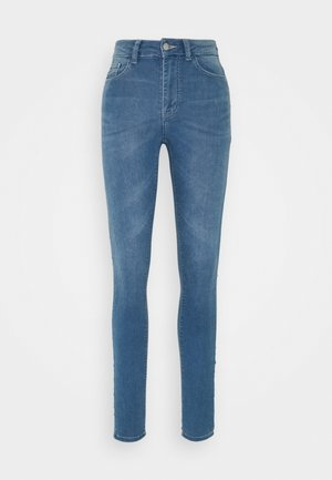 JDYNEWNIKKI LIFE HIGH - Jeans Skinny Fit - light blue denim