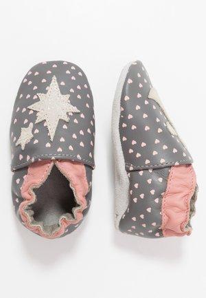 FAIRY - První boty - gris/fonce/bronze