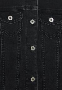 Abercrombie & Fitch - JACKET - Jeansjacke - black denim - 2