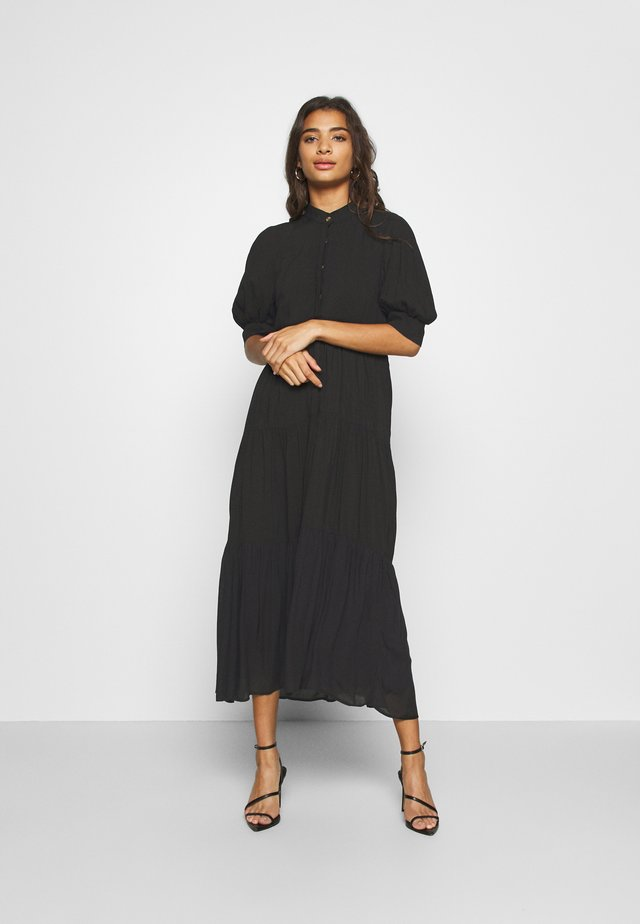 PANEL MAXI DRESS - Hverdagskjoler - black