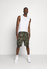 G-Star - JUNGLE CARGO - Shorts - olive/khaki - 1